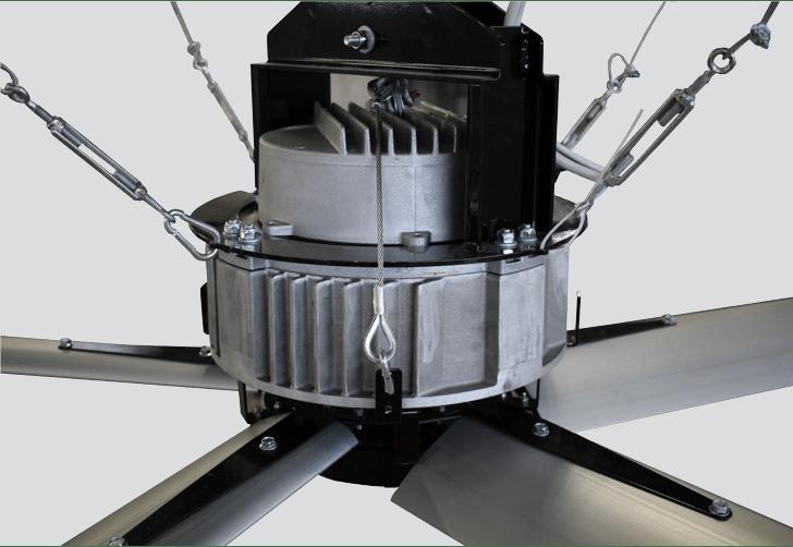 rotating motor of fan